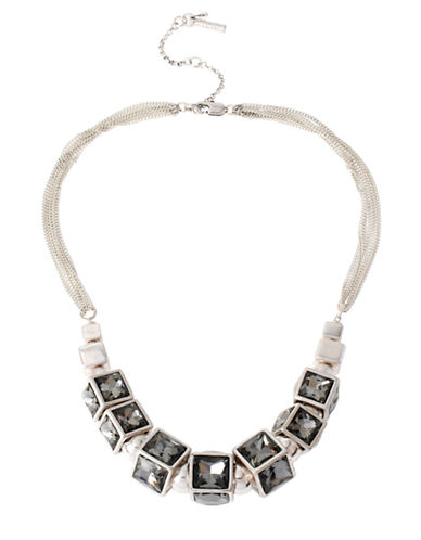 KENNETH COLE NEW YORK Mixed Geometric Necklace