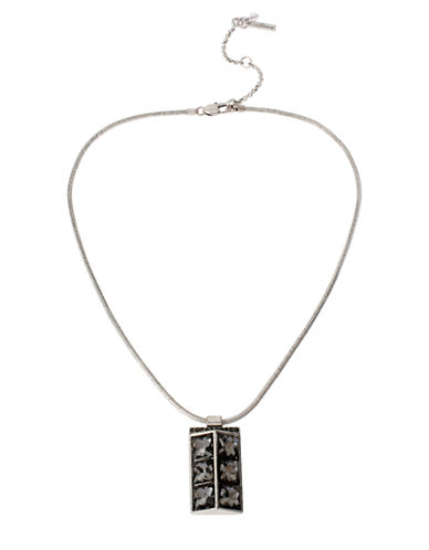 Kenneth Cole New York Faceted Pendant Necklace