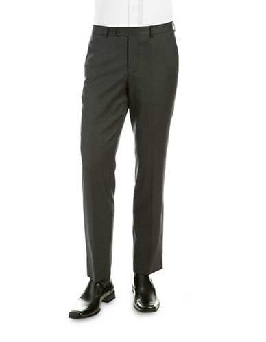 BLACK BROWN 1826 LUX Wool Dress Pants