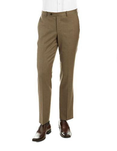 BLACK BROWN 1826 LUXFlannel Dress Pants