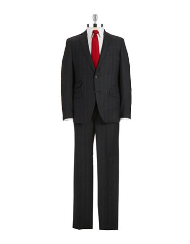 TED BAKERTwo Piece Plaid Suit