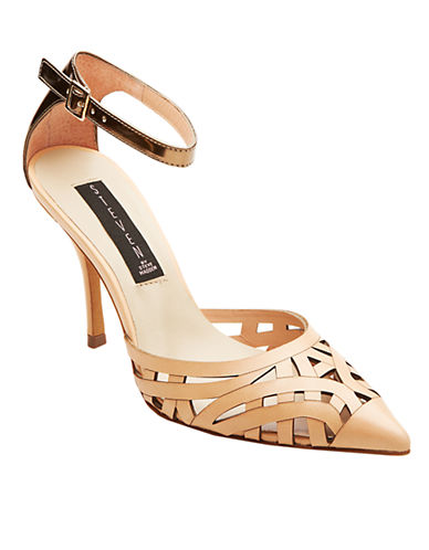 STEVEN BY STEVE MADDENMajisty Leather Pointed-Toe Pumps