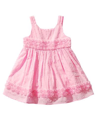 SWEETHEART ROSEBaby Girls Pin Dot Cotton Dress