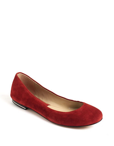 MICHAEL KORS Pippa Suede Flats
