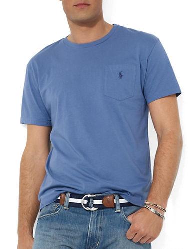POLO RALPH LAURENShort-Sleeved Pocket Crewneck T-Shirt