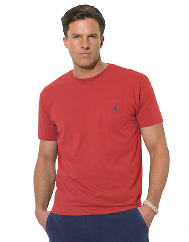POLO RALPH LAURENCustom-Fit Short-Sleeved T-Shirt