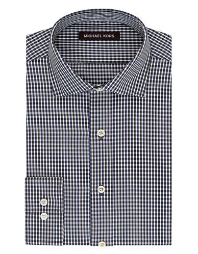 MICHAEL KORSGrid Plaid Dress Shirt