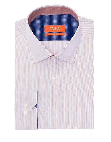 TALLIA ORANGESlim Fit Pinstripe Dress Shirt