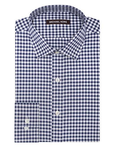 MICHAEL KORSClassic Fit Fancy Check Dress Shirt