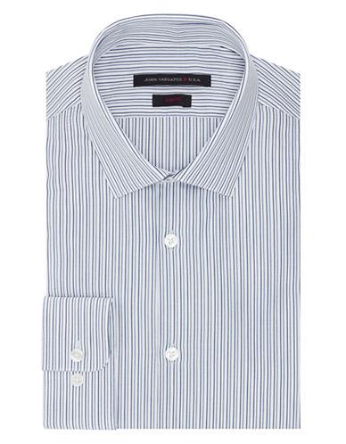 JOHN VARVATOS U.S.A.Slim Fit Dobby Stripe Dress Shirt