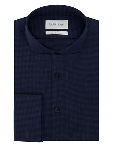 CALVIN KLEINSlim Fit Houndstooth Dress Shirt