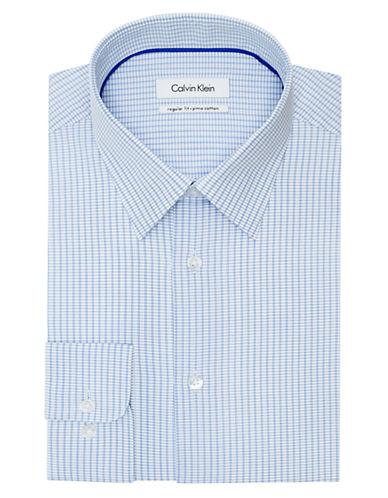 CALVIN KLEINRegular Fit Graphic Check Dress Shirt