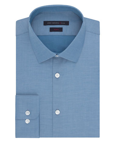 JOHN VARVATOS U.S.A.Slim Fit Twill Dress Shirt