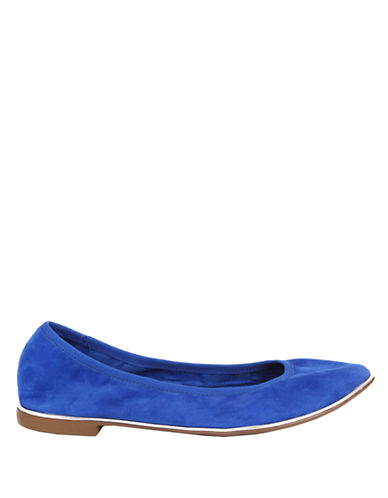 REPORT SIGNATURE Silvia Leather Ballet Flats
