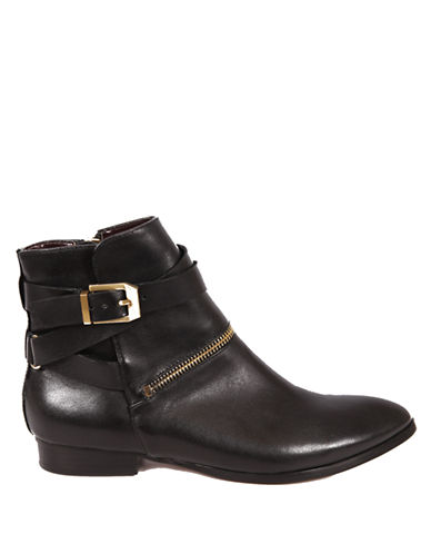 REPORT SIGNATURE Ele Leather Booties