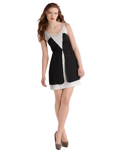 Shop Z Spoke Zac Posen online and buy Z Spoke Zac Posen LAST STOP Washed Faille Dress dress online