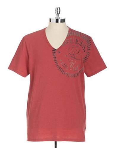 GUESSSunburst Cotton Graphic T-Shirt