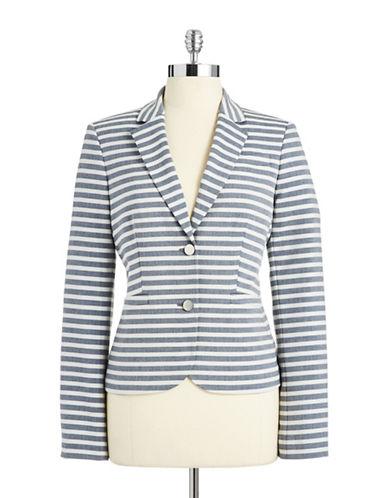 CALVIN KLEINPetite Striped Blazer