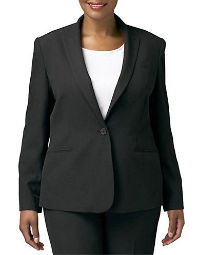 CALVIN KLEIN WOMENSPlus 1-Button Jacket