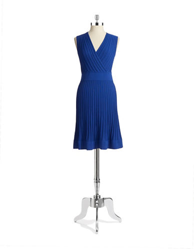 CALVIN KLEINKnit Fit and Flare Dress