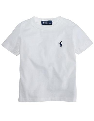RALPH LAUREN CHILDRENSWEARBaby Boys Crew Neck T Shirt