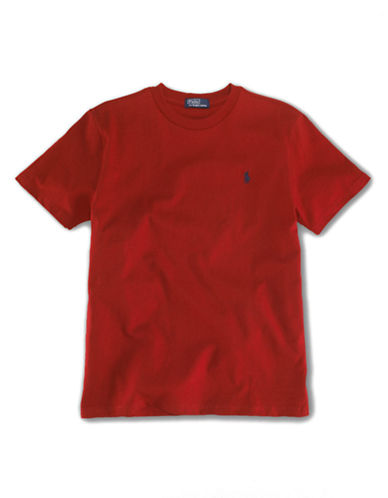 RALPH LAUREN CHILDRENSWEAR Boys 2-7 Crew-Neck T-Shirt