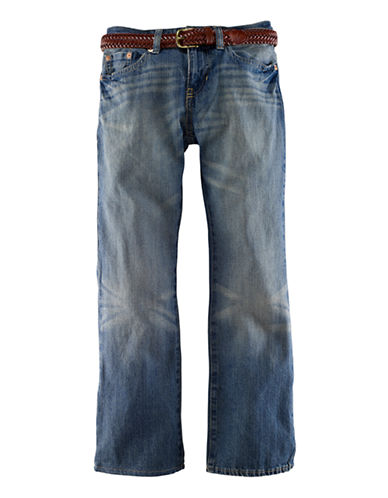 RALPH LAUREN CHILDRENSWEAR Boys 2-7 Mott Slim Denim Jeans