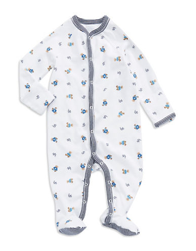 RALPH LAUREN CHILDRENSWEARBaby Boys Newborn Boys 0-9 Months Bear-Print Footed Coveralls