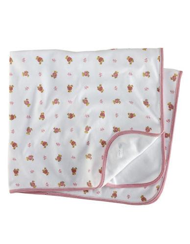 RALPH LAUREN CHILDRENSWEARBaby Girls Newborn Girls 0-9 Months Bear-Print Receiving Blanket