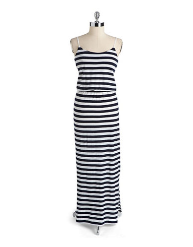 FRENCH CONNECTIONCotton Striped Maxi Dress