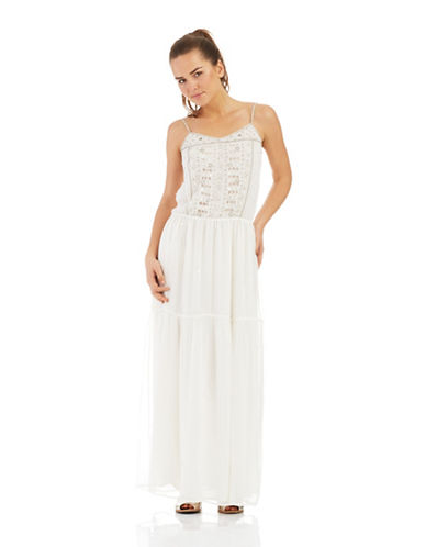 FRENCH CONNECTIONEmbroidered Maxi Dress