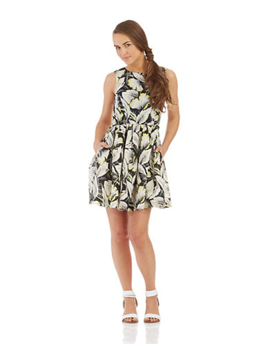 FRENCH CONNECTIONFloral Fit and Flare Dress