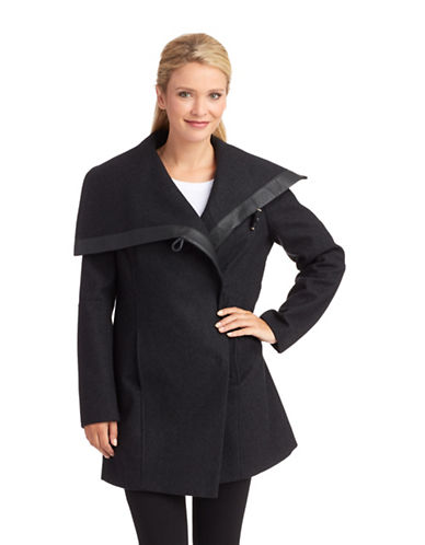 SAM EDELMANAsymmetrical Toggle Coat