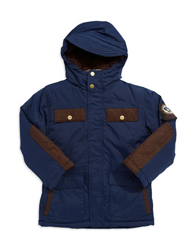 HAWKE & CO Boys 2-7 Weather Resistant Parka