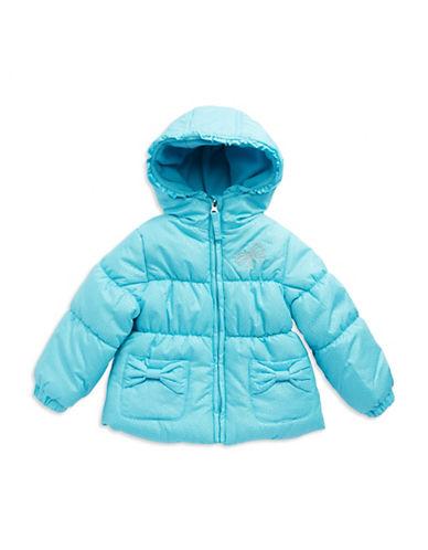 HAWKE & COBaby Girls Glitter Accented Puffer Coat