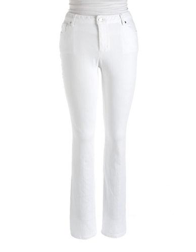MICHAEL MICHAEL KORS PLUSPlus Slim-Leg Stretch Jeans