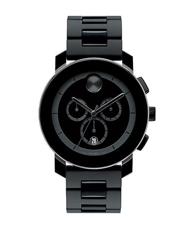 MOVADO BOLD Mens Bold Black Chronograph Watch