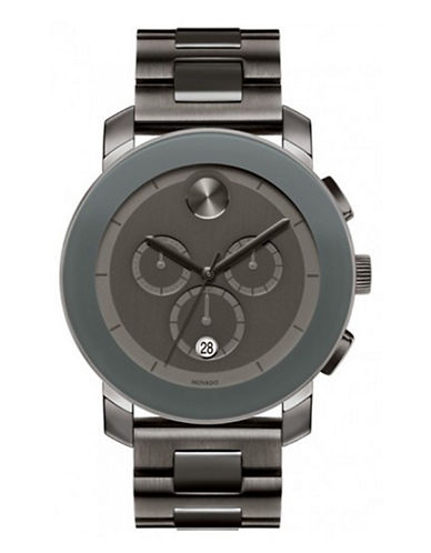 MOVADO BOLDMens Stainless Steel Chronograph Watch