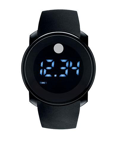 MOVADO BOLDMens Black Digital Watch