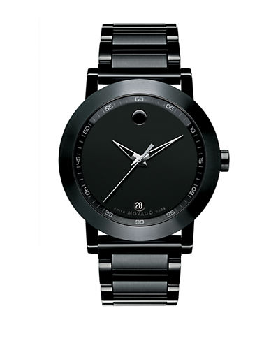 MOVADOMens Museum Sport Black Watch