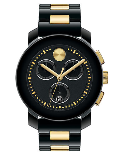 MOVADO BOLD Ladies Stainless Steel Chronograph Watch
