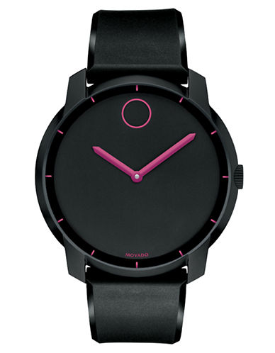 MOVADO BOLDLarge Round Matte Watch
