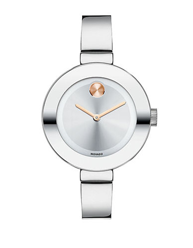 MOVADO BOLDRound Mid-Size Stainless Steel Watch