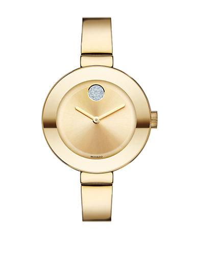 MOVADO BOLDMid-Size Stainless Steel Bangle Bracelet Watch
