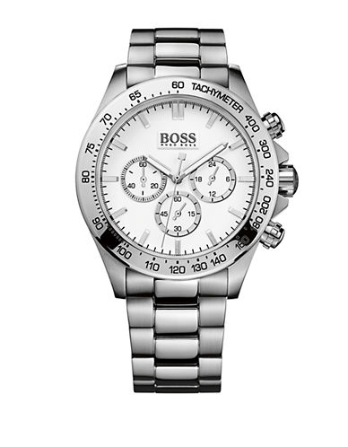 HUGO BOSS Mens Stainless Steel Bracelet Watch