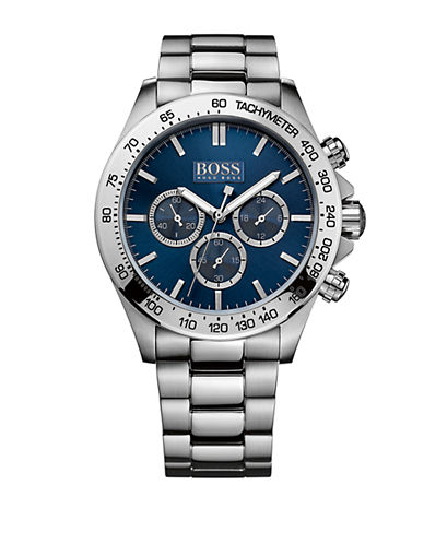 HUGO BOSSMens Stainless Steel Bracelet Watch