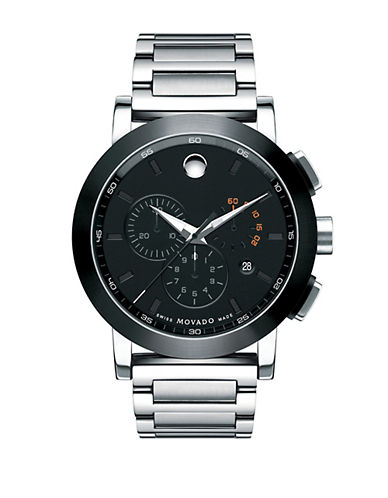 MOVADO BOLD Men's Museum Stainless Steel Chronograph Watch