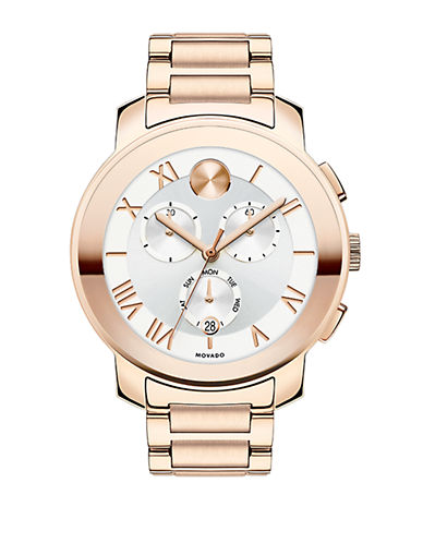 MOVADO BOLDRose Gold-Tone Quartz Bracelet Watch
