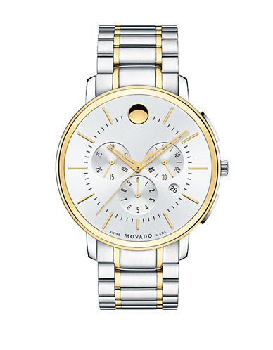 MOVADO Movado TC Two-Tone Stainless Steel Chronograph Watch