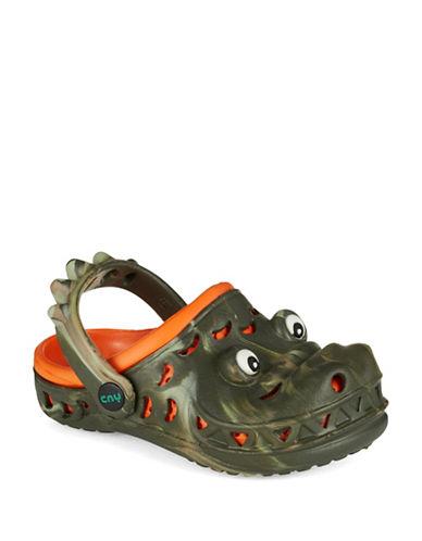 capelli new york female 227429 boys crocodile clogs